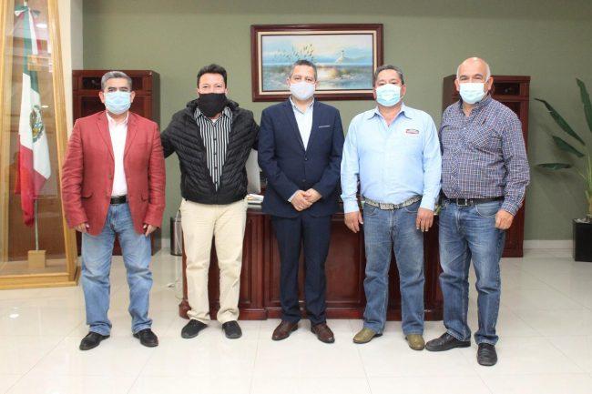 Abarrotera MAFIVAZ visita Ayuntamiento Tulancingo