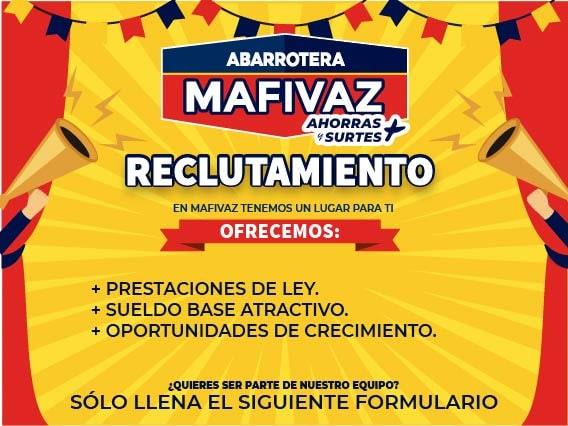 Reclutamiento Abarrotera MAFIVAZ