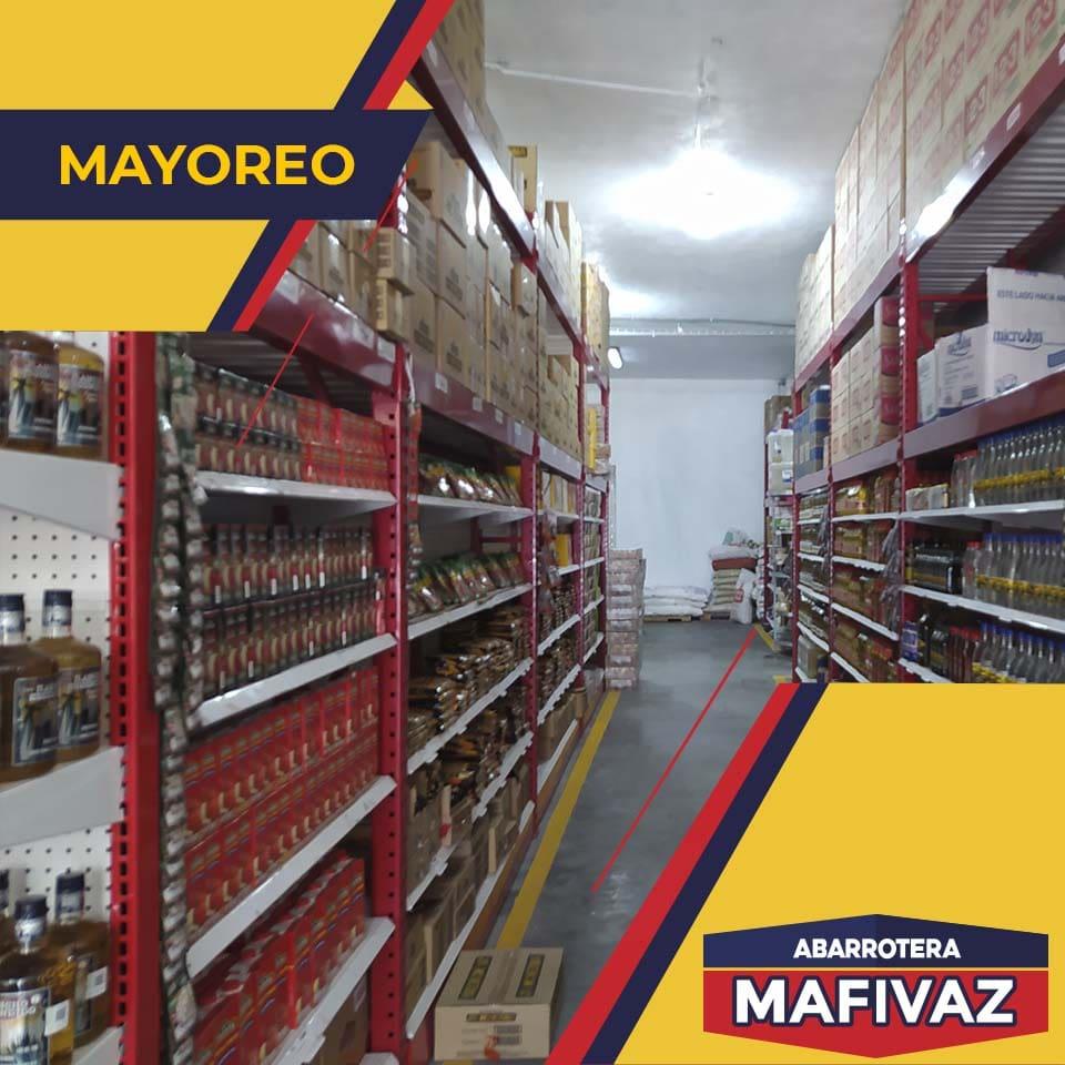 Abarrotera MAFIVAZ - Mayoreo