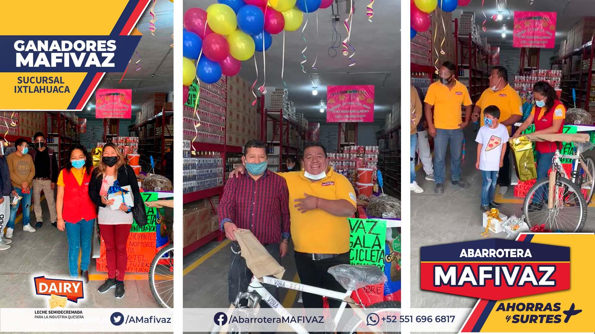 Ganadores MAFIVAZ Ixtlahuaca