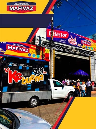 Abarotera MAFIVAZ - Nosotros