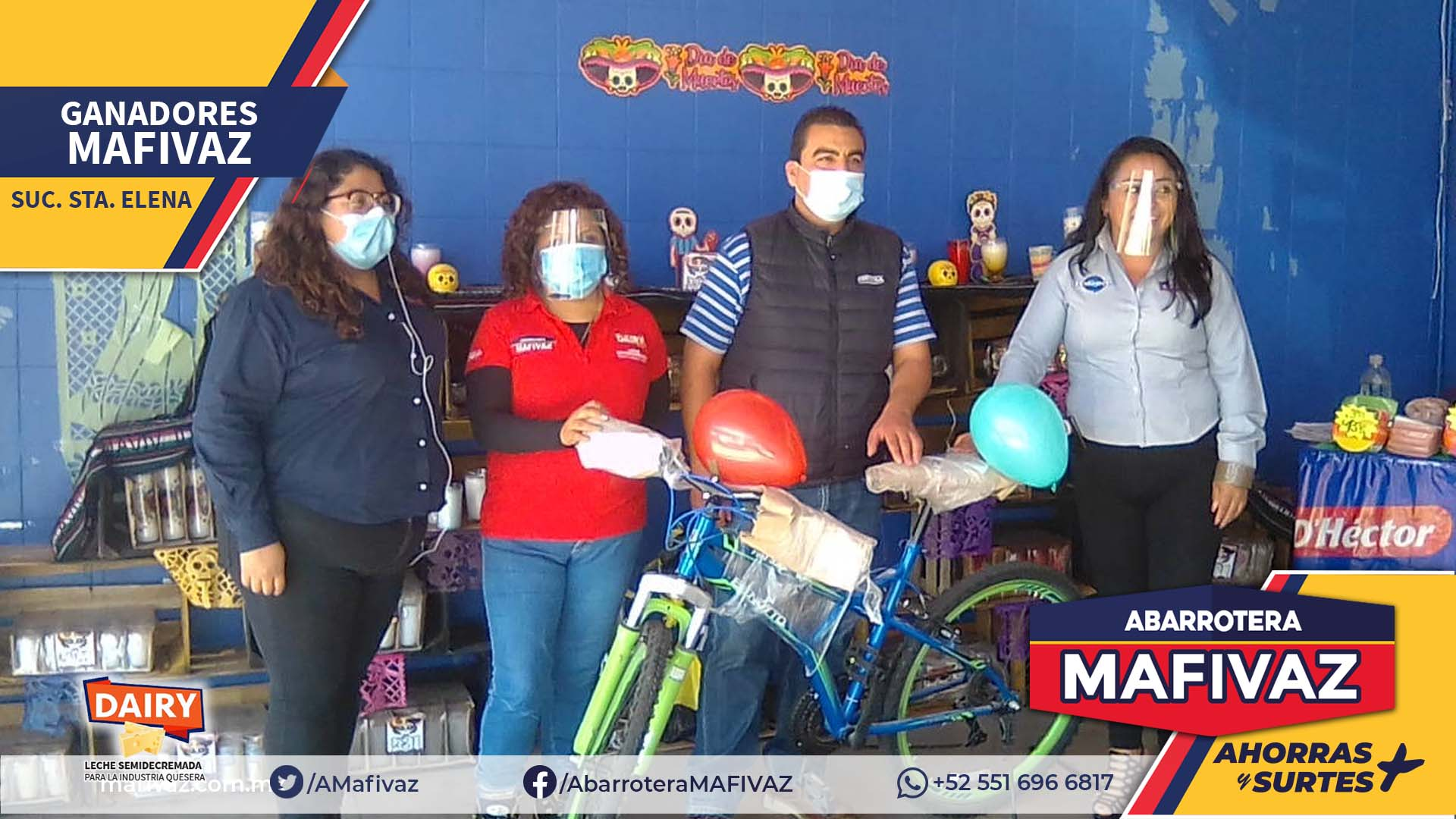 Ganador MAFIVAZ Santa Elena yoghurízate con LALA