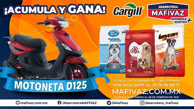 Acumula y Gana con Cargill y Abarrotera MAFIVAZ